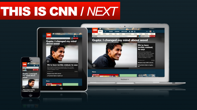 CNN plans a more consistent experience across screens and a less overwhelming design