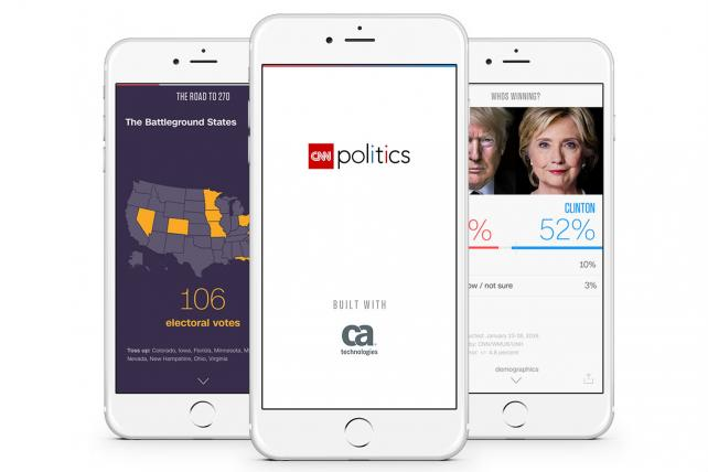 CA Technologies Partners With CNN on Mobile Politics App