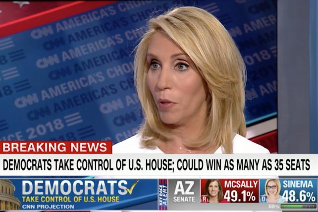 CNN confirms that Democrats have regained control of the House.