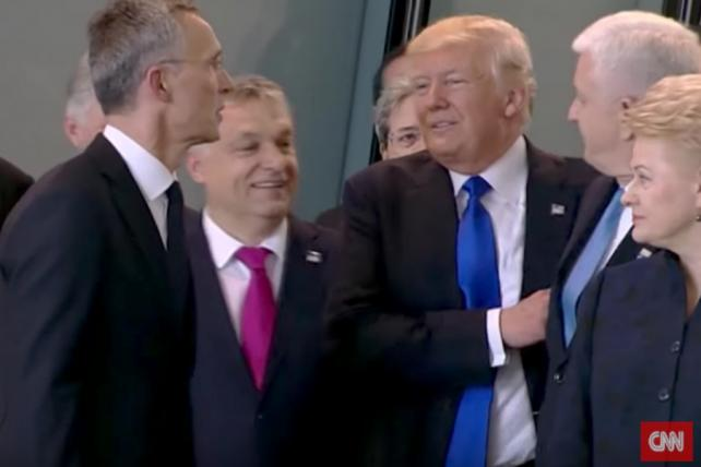 Balkan Media Not Pleased With Trump Shove on Montenegro's Leader
