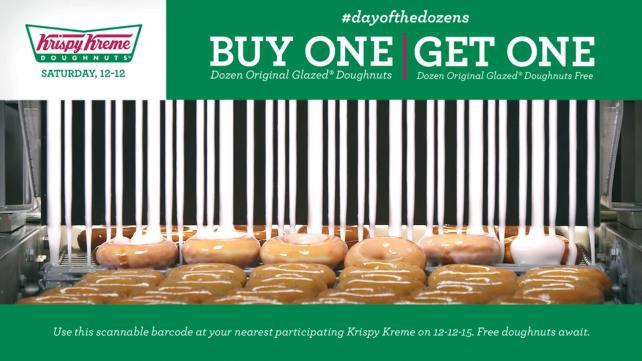 'World's Tastiest Coupon' for Krispy Kreme (Baldwin&)