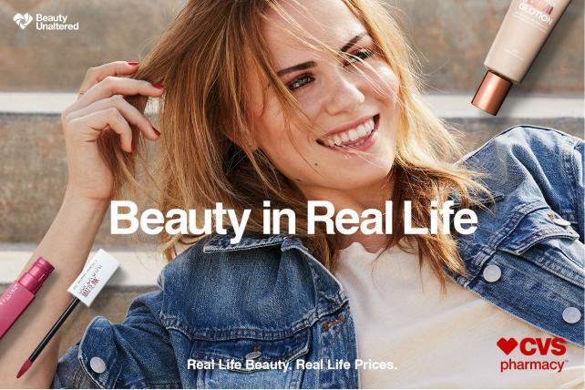 CVS debuts beauty campaign free of airbrushing