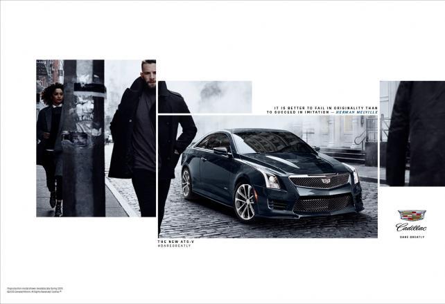 Cadillac Print Ad