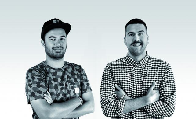 (From l.) Nuno Gomes and Pedro Eloi