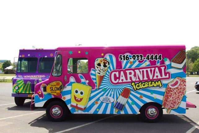 Carnival Ice Cream Trucks in New York
