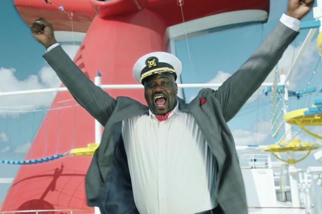 Shaq Puts the Fun in Carnival Cruise Line