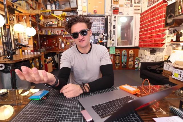 Casey Neistat in 'World's Largest Homemade Drone.'