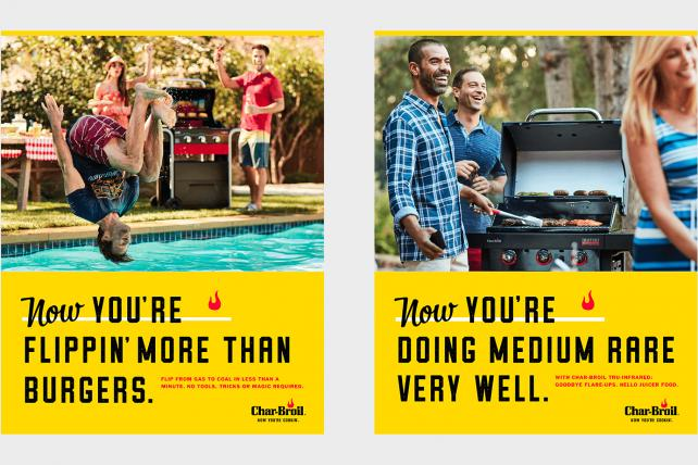 The Variable's campaign for Char-Broil