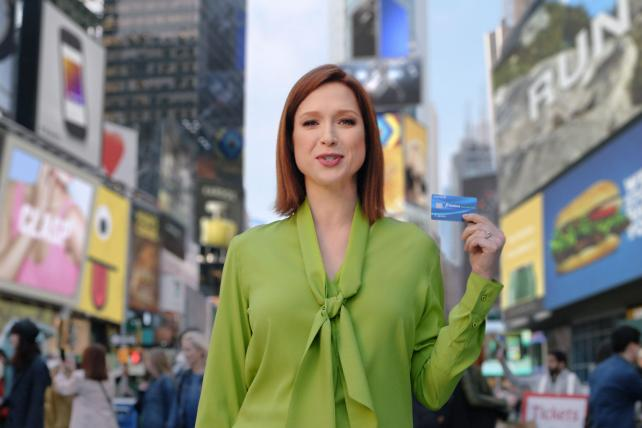 Ellie Kemper stars in new Chase campaign.