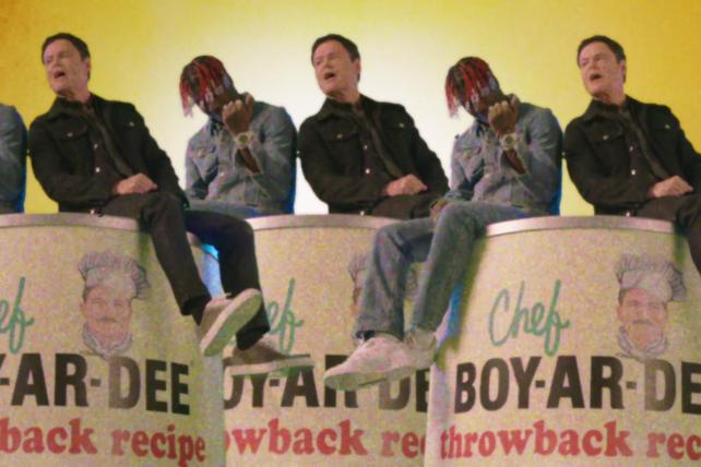 Watch Lil Yachty and Donny Osmond sing the praises of Chef Boyardee