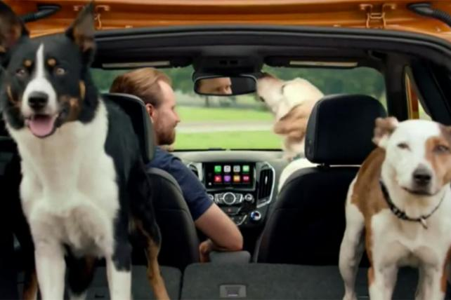 Watch the Newest Ads on TV From Chevrolet, Charmin, GNC and More