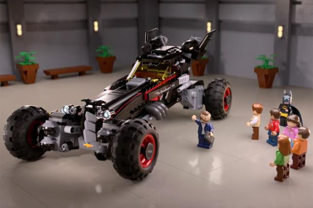 Holy Movie Integration! Lego Batman Stars in Chevy Ad