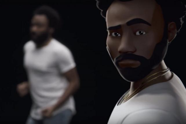 Childish Gambino stars in a Google commercial for its Playmojis