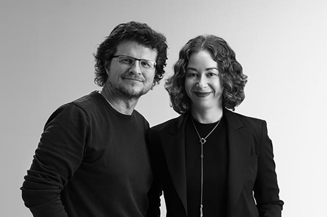 Taras Wayner and Chloe Gottlieb