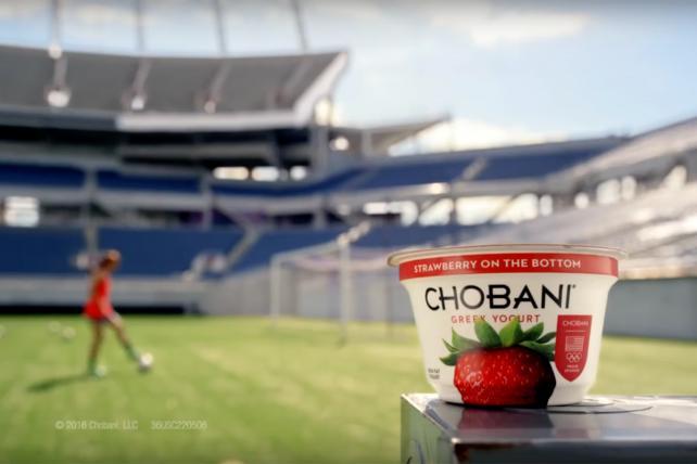 A Chobani commercial.
