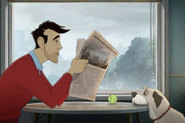 Coca-Cola: Man & Dog