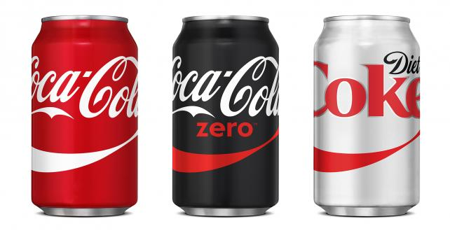 Coke's new horizontal logo in U.S.