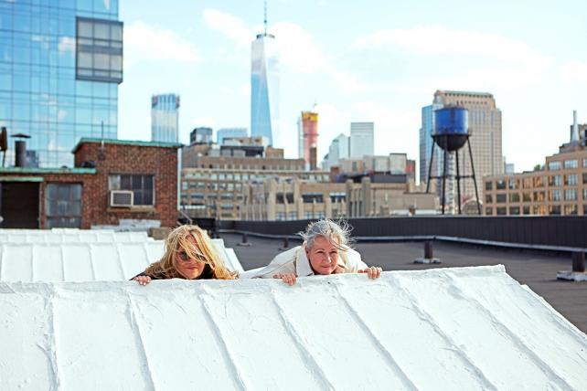 Susan Hoffman and Colleen DeCourcy.