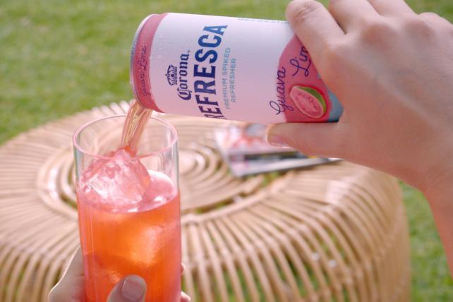 Corona will push its new Refresca drink nationally