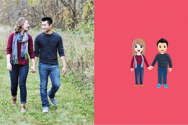 A new campaign argues that emojis should reflect interracial relationships.