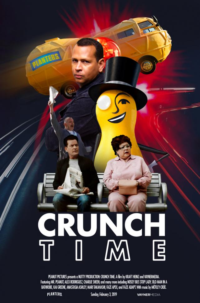 Planters Crunch Time Movie Poster