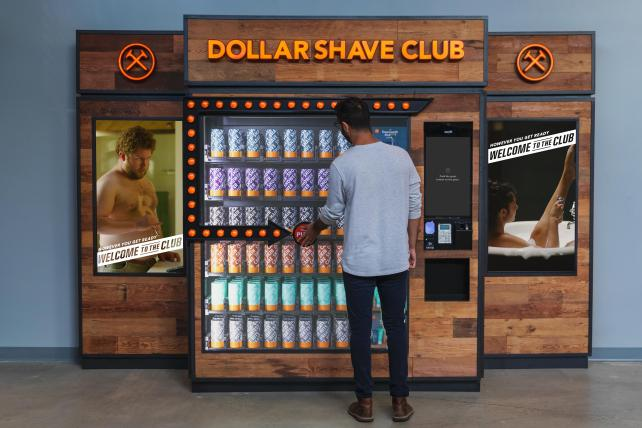 Dollar Shave Club's automated machines