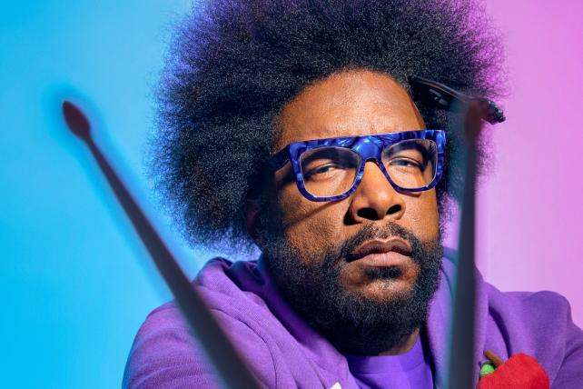 Give the drummer some: Questlove opens up about creativity and feeling the funk