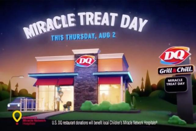 Watch the newest ads on TV from Dairy Queen, Indeed, Ice Breakers and more