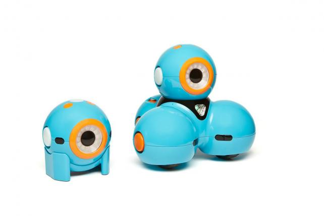 Dash and Dot are made by toy company Wonder Workshop.