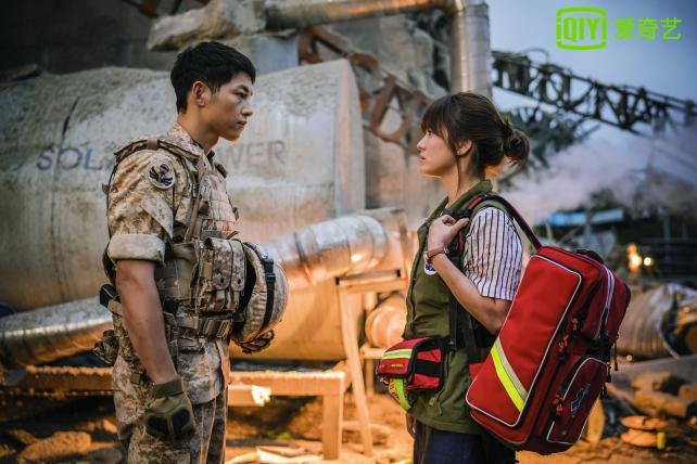 'Descendants of the Sun' is a smash hit in China.