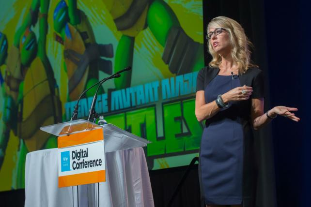 Nickelodeon's Pam Kaufman spoke at the Ad Age Digital Conference San Francisco.