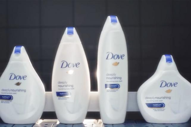 Dove: Real Beauty Bottles