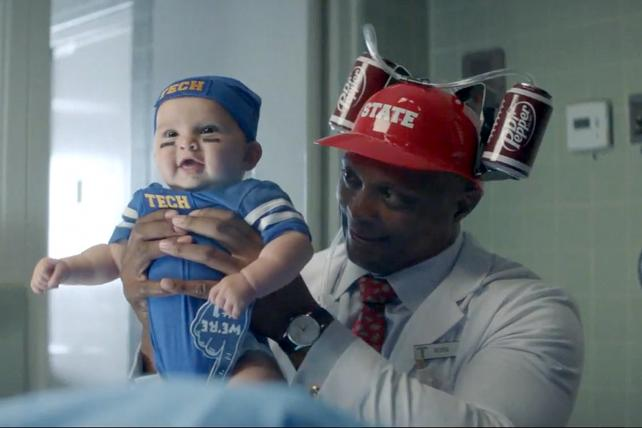 Dr Pepper's college football campaign is like a TV show filled with pigskin crazies