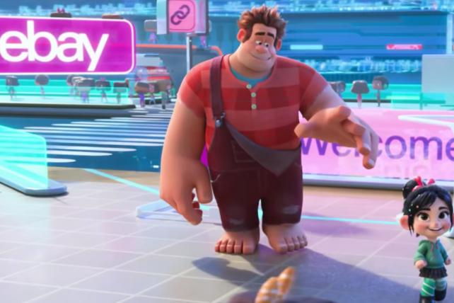 'Wreck-It Ralph' gives eBay starring role--for free