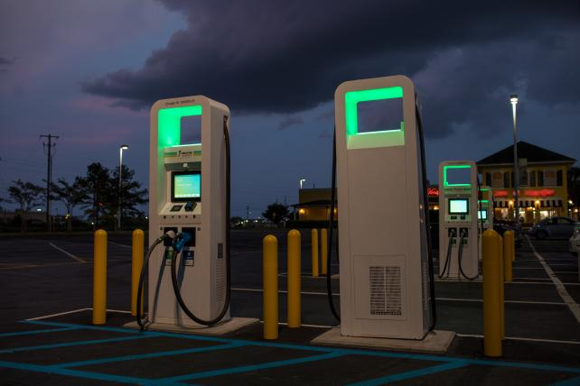 Electric vehicle charging stations could be the next ad screen: Marketer's Brief Podcast