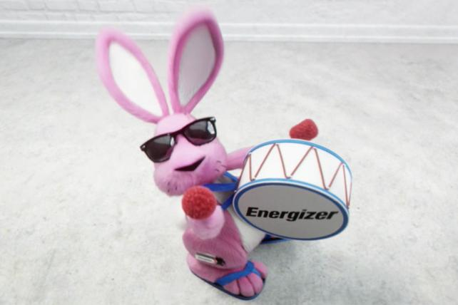 The new Energizer Bunny is slimmer and meant to be more expressive.