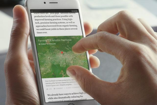 Facebook's Instant Articles program has signed up publishers including NBC News, The Guardian, Spiegel, BuzzFeed and the Times.