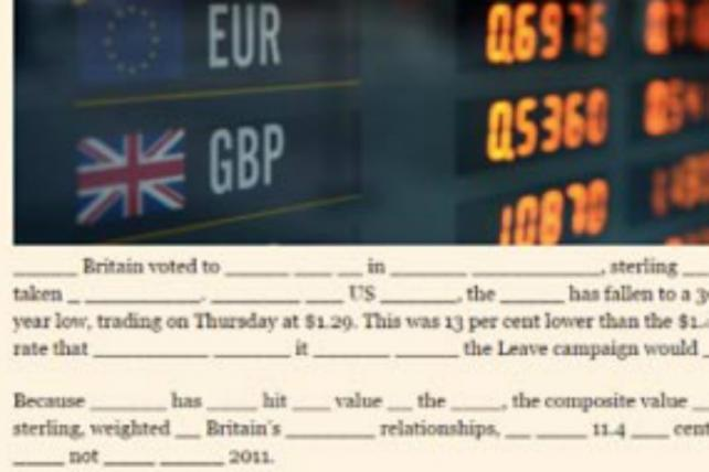 The Financial Times Decides to Get Creative With Ad-Blocker Blocking