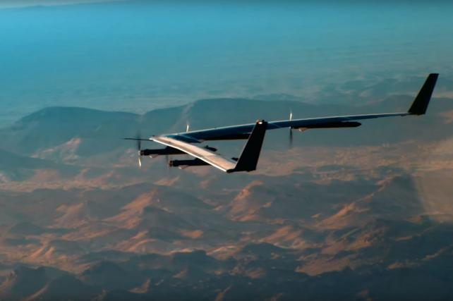 Facebook's Solar Airplane Campaign Soars to Number One on Viral Video Chart