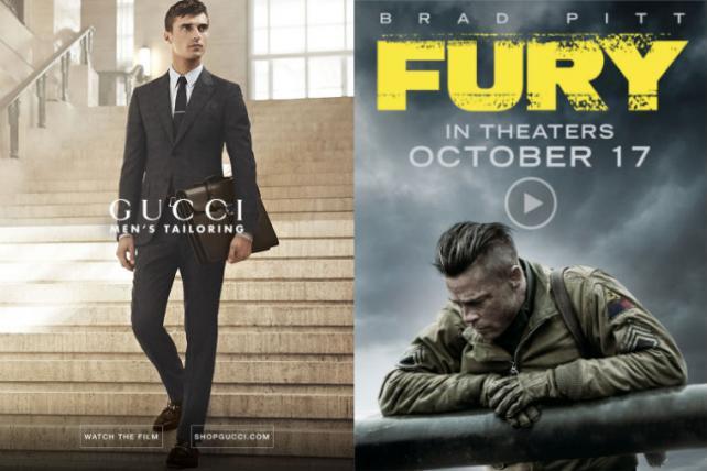 Flipboard's first video advertisers include Gucci and Sony Pictures' 'Fury'