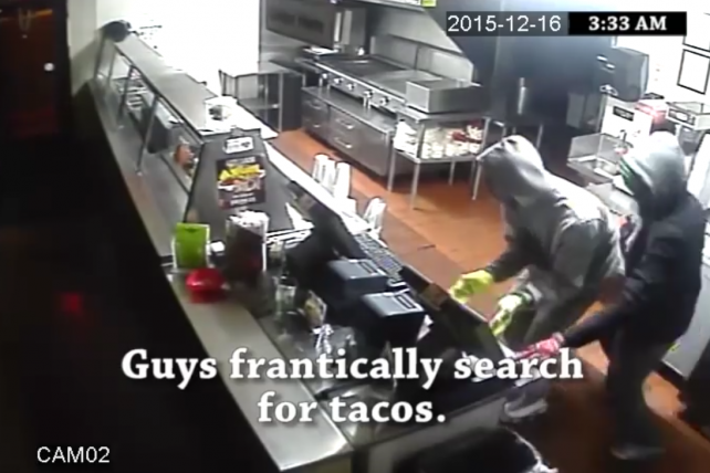 Vegas Taco Joint Gets Burglarized, Makes Amazing Viral Video Ad From Security-Cam Footage
