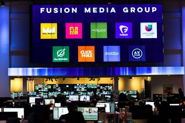 Univision and Fusion Media headquarters.