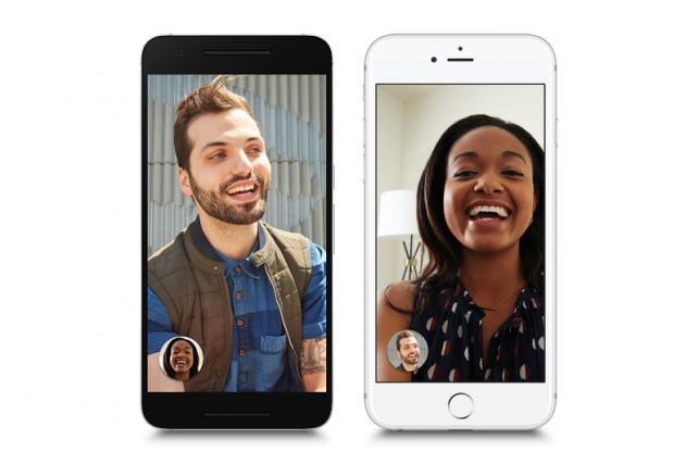 Google Duo works across Android and iOS -- all you need is a phone number.
