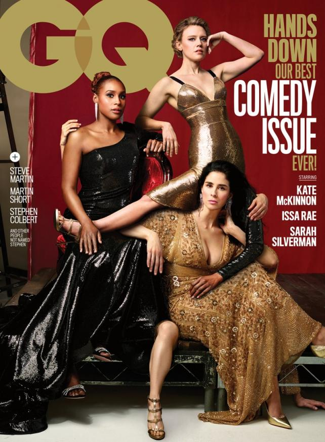 The June 2018 'Comedy Issue' of GQ.