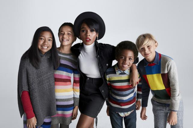 A shot from Gap's holiday campaign.