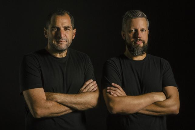 Gaston Bigio and Anselmo Ramos, co-founders and chief creative officers of Gut.
