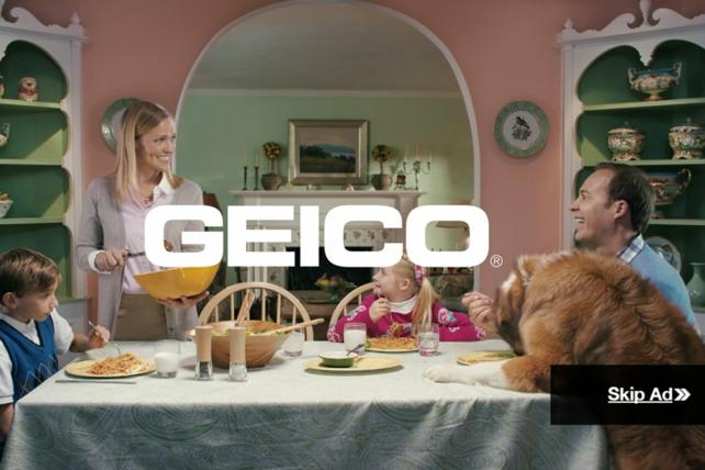 Geico Nabs a Film Grand Prix at Cannes -- With a Pre-Roll Ad