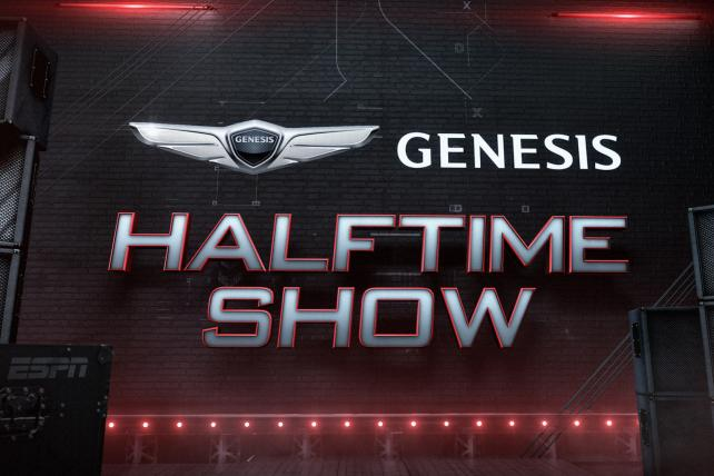 ESPN, Genesis duet in a tuneful new, commercial-free 'Monday Night Football' halftime show