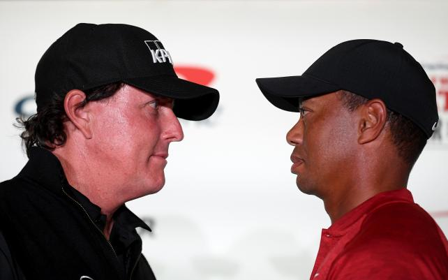 Better late than never? Woods, Mickelson prepare for The Match