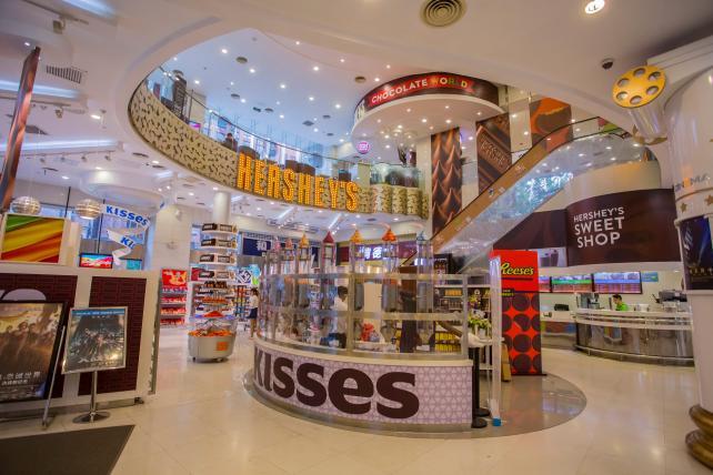 The Hershey Experience Store in Shanghai, China.